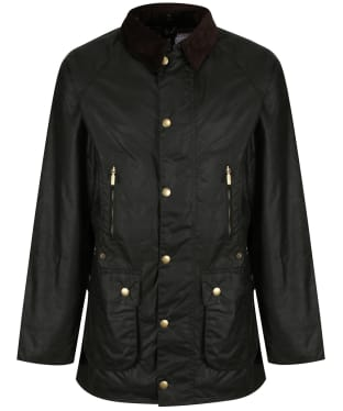 Men's Barbour Icons Beaufort Waxed Jacket - Sage