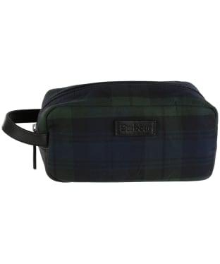 Barbour Tartan Wax Wash Bag