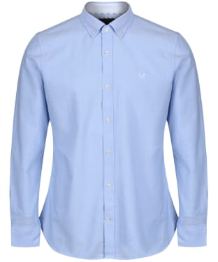Men's Crew Clothing Plain Oxford Shirt - Sky