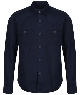 Men's Crew Clothing Lockwood Overshirt - Heritage Navy