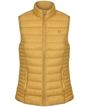 Women's Crew Clothing Lightweight Gilet - Yellow