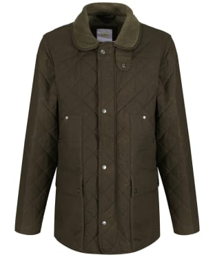 Men's Le Chameau Quilted Country Jacket - Chameau Green