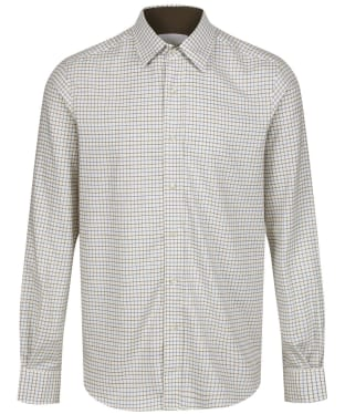 Men's Le Chameau Burford Shirt - Green Check