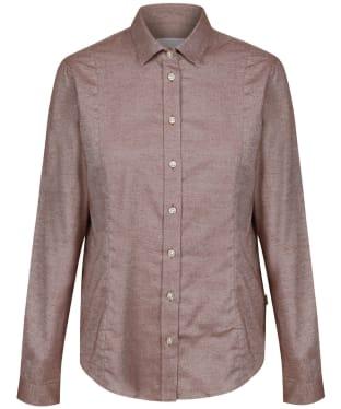 Women's Le Chameau Winchcombe Shirt – S - Burgundy