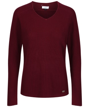 Women's Le Chameau Mickleton Jumper - Cherry