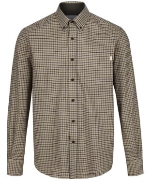 Men's Le Chameau Swinbrook Shirt - Beige Check