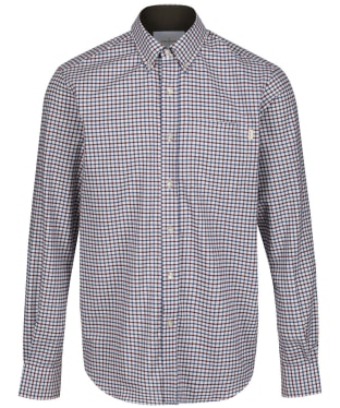 Men's Le Chameau Swinbrook Shirt - Navy Check