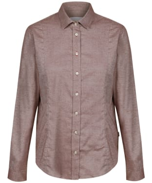Women's Le Chameau Winchcombe Shirt – L - Burgundy
