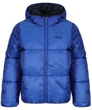 Boy's Barbour Ross Quilted Jacket, 10-15yrs - Charge Blue