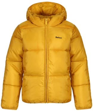 Boy's Barbour Ross Quilted Jacket, 2-9yrs - Gold