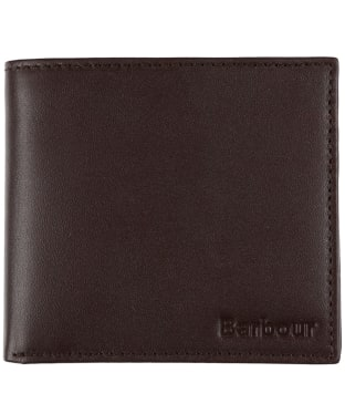 Men's Barbour Kirkham Leather Billfold and Coin Wallet