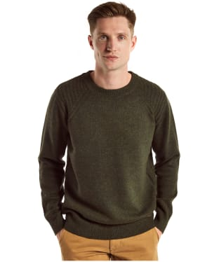 Men's Dubarry Kenny Crew Neck Sweater - Olive