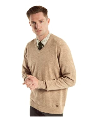 Men's Dubarry Lynch V-neck Sweater - Stone