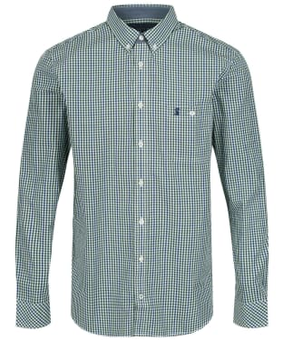 Men's Joules Abbott Classic Fit Shirt - Green / Blue Check