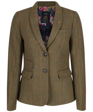Women's Joules Wiscomb Tweed Jacket - Mr Toad