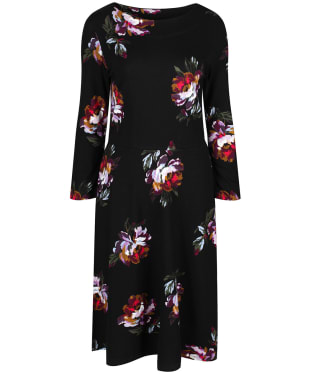 Women's Joules Shay Print Dress - Black Peony