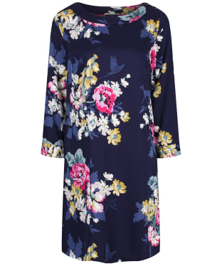 Women's Joules Daisy Boat Neck Woven Dress - Cambridge Anniversary Floral