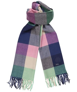 Women's Joules Bracken Check Scarf