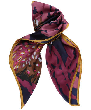 Women's Joules Bloomfield Scarf - Navy Pheasant