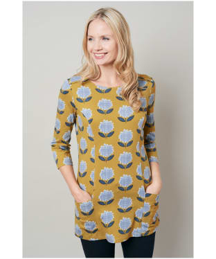 Women's Lily & Me Albany Tunic Top - Mustard