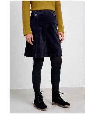 Women's Seasalt Autumn Feast Skirt - Dark Night