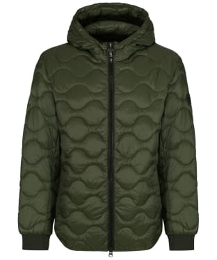 Men's Barbour International Acoustics Quilted Jacket - Sage