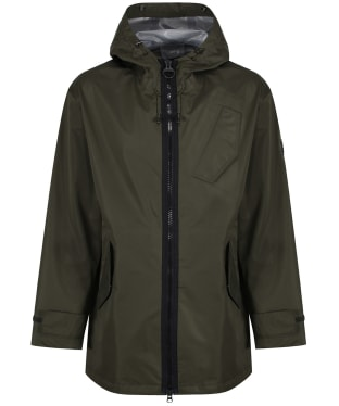 Men's Barbour International Acoustics Waterproof Jacket - Forest