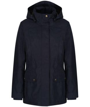 Women's Barbour Dryburgh Waterproof Jacket - Navy