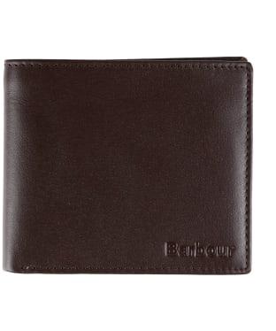 Men's Barbour Kirkham Leather Billfold Wallet