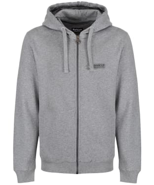 Men's Barbour International Essential Hoody - Anthracite Marl