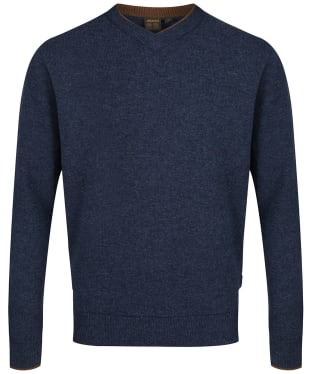 Men's Musto Shooting V-Neck Sweater - Glen River