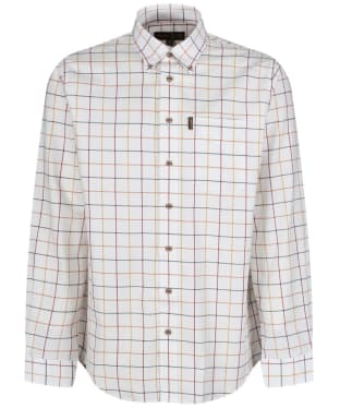 Men's Musto Classic Button Down Check Shirt - Wimbourne Gold