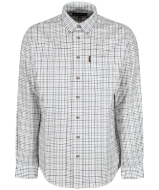 Men's Musto Classic Button Down Check Shirt - Oban Green