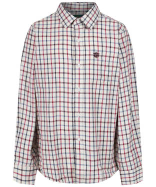 Boy's Alan Paine Ilkley Shirt, 3-16yrs - Red Check