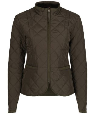 Women's Alan Paine Surrey Quilted Jacket - Olive