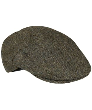 Men's Barbour Moons Tweed Cap - Olive