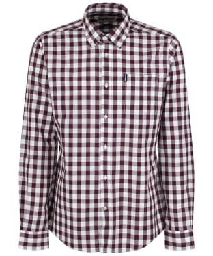 Men's Barbour Endsleigh Gingham Shirt - New Port