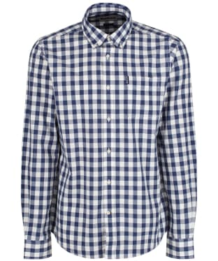 Men's Barbour Endsleigh Gingham Shirt - New Deep Blue