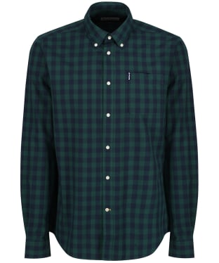 Men's Barbour Endsleigh Gingham Shirt - New Seaweed