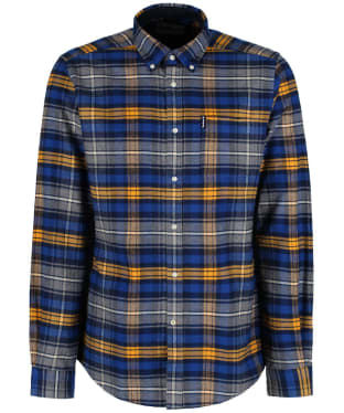 Men's Barbour Highland Check 16 Tailored Shirt - New Mustard