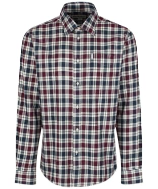 Men's Barbour Astwell Check Shirt - New Merlot
