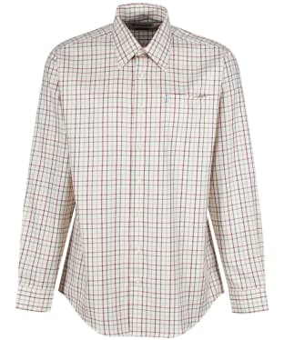 Men's Barbour Maud Shirt - New Red / Khaki