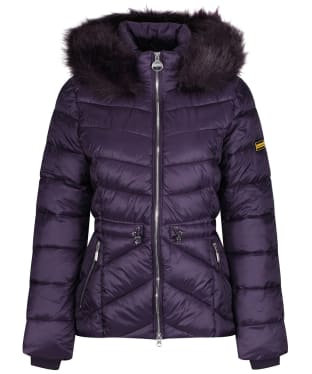 Women's Barbour International Island Quilted Jacket - Tempest