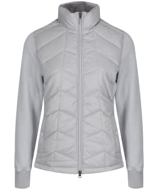 Women's Barbour Winifred Sweater Jacket - Ice White