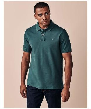 Men's Crew Clothing Classic Pique Polo Shirt - Ivy