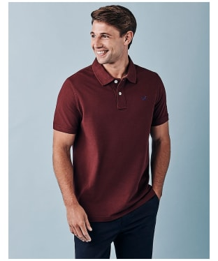 Men's Crew Clothing Classic Pique Polo Shirt - Port Royale