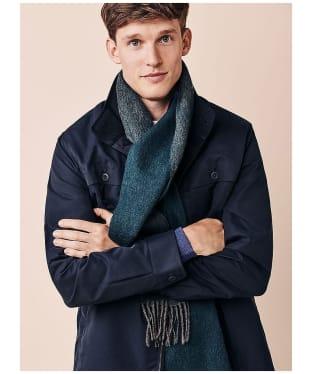 Men's Crew Clothing Lambert Wool Scarf - Grey / Ivy