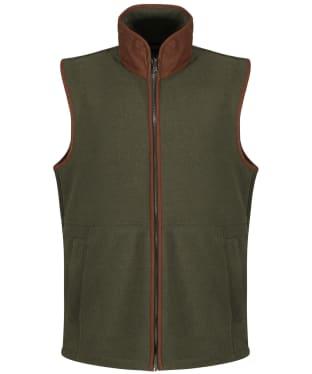 Men's Alan Paine Aylsham Fleece Waistcoat - Moss