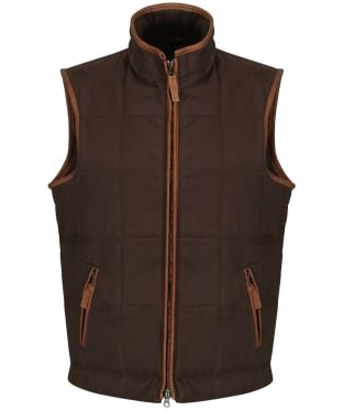 Men's Alan Paine Kexby Gilet - Brown