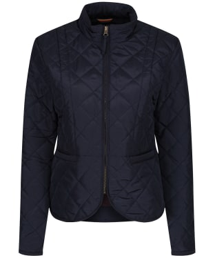 Women's Alan Paine Surrey Quilted Jacket - Navy